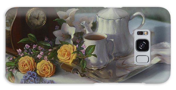 Tea In The Garden Galaxy Case