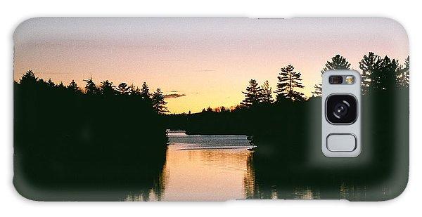 Tea Lake Sunset Galaxy Case