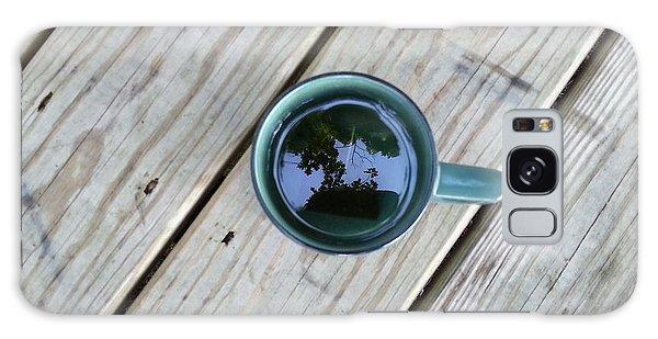 Tea Leaves Galaxy Case by Lon Casler Bixby