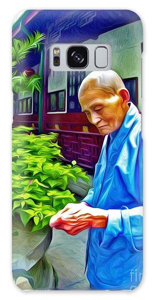Tea Monk Galaxy Case