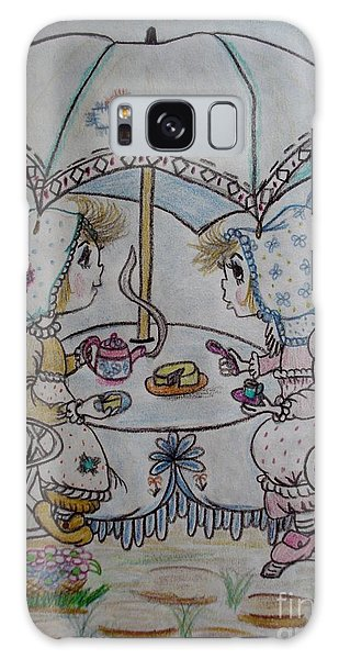 Tea Time Galaxy Case by Lori  Lovetere