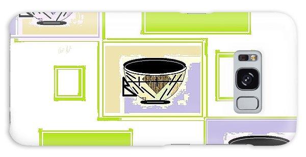 Tea Time Galaxy Case by Ann Calvo