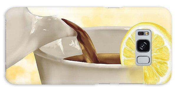 Tea Time Galaxy Case by Veronica Minozzi