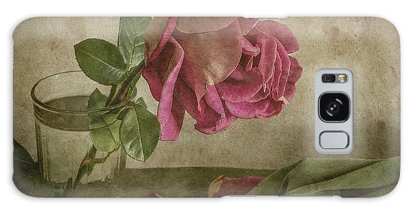 Drop Galaxy Case - Tear Of Rose by Igor Tokarev