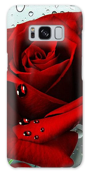 Tears From My Heart Galaxy Case by Morag Bates