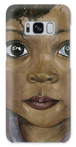 Ebony's Tears Galaxy Case