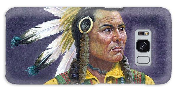 Indian Head Galaxy Case - Tecumseh by Gregory Perillo