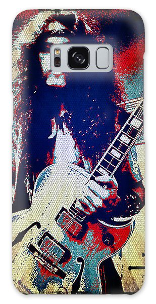 Ted Nugent - Red White And Blue Galaxy Case
