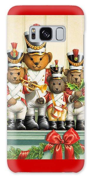 Teddy Bear Band Galaxy Case