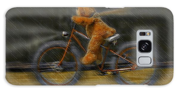 Teddy Going Hard 01 Galaxy Case