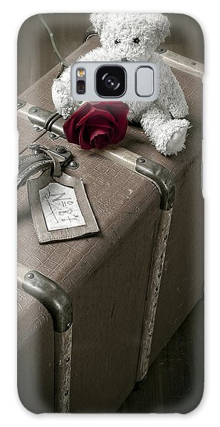 Floral Galaxy Case - Teddy Wants To Travel by Joana Kruse