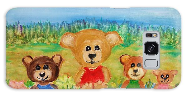 Teddybears Day Out Galaxy Case