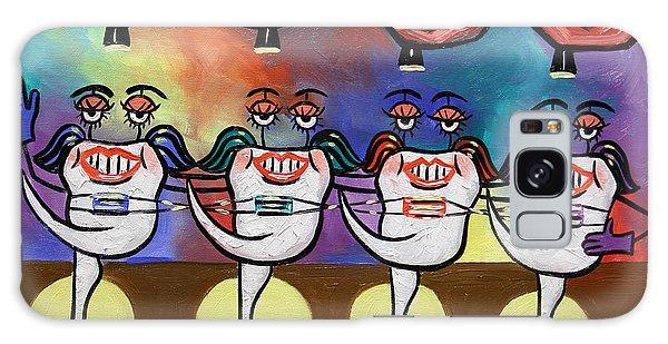 Teeth With Braces Dental Art By Anthony Falbo Galaxy Case