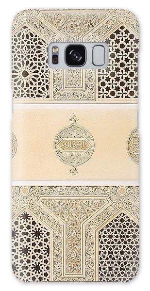 Decorative Galaxy Case - Tekih Cheik Hacen Sadaka, Ie Funerary by Emile Prisse d'Avennes