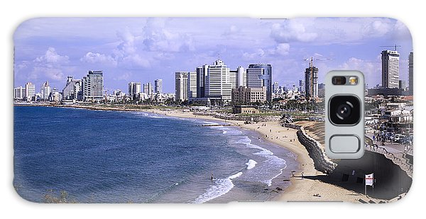 Tel Aviv Beach Galaxy Case