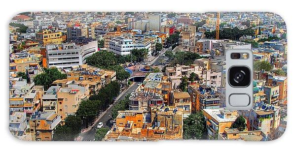 Tel Aviv Eagle Eye View Galaxy Case