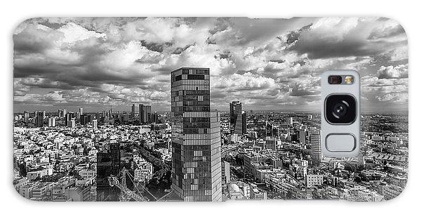 Tel Aviv High And Above Galaxy Case by Ron Shoshani