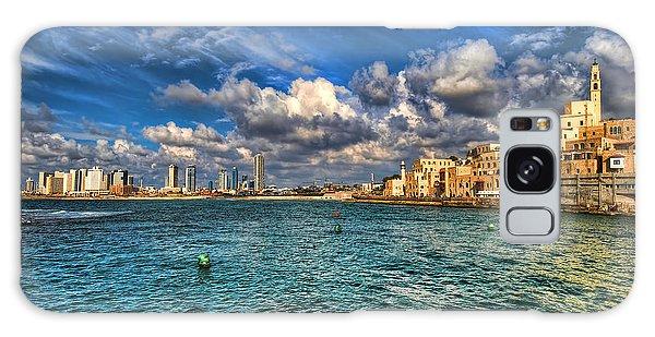 Tel Aviv Jaffa Shoreline Galaxy Case