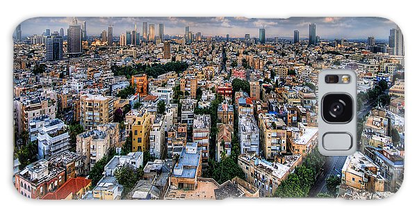 Tel Aviv Lookout Galaxy Case by Ron Shoshani