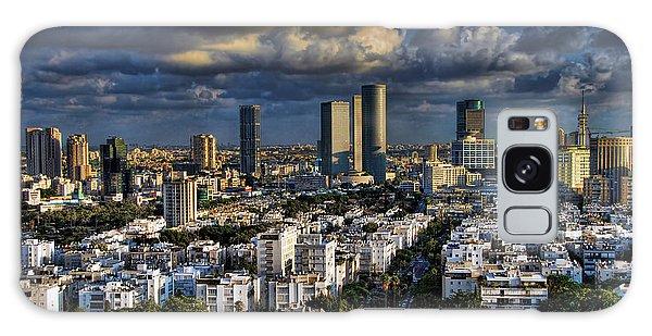 Tel Aviv Skyline Fascination Galaxy Case