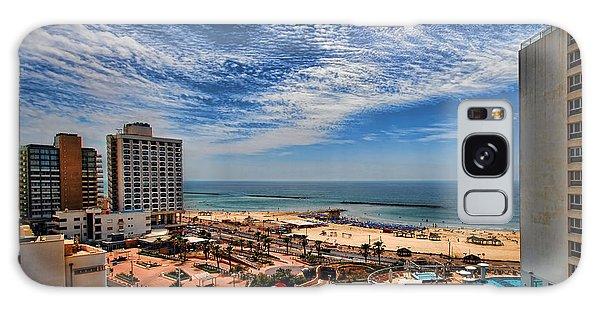 Tel Aviv Summer Time Galaxy Case