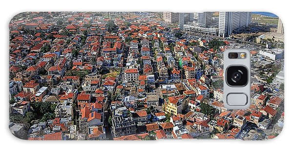 Tel Aviv - The First Neighboorhoods Galaxy Case by Ron Shoshani