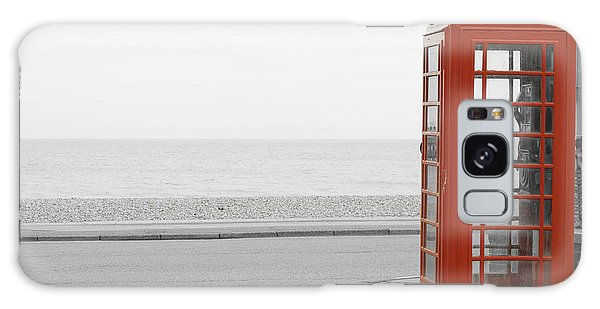 Telephone Booth Galaxy Case