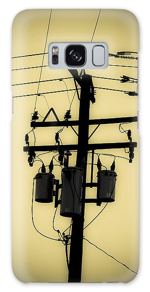 Telephone Pole 3 Galaxy Case