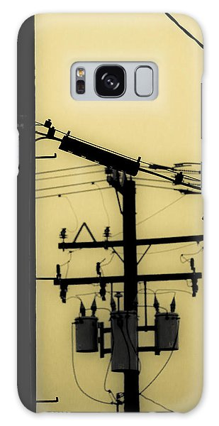 Telephone Pole And Sneakers 5 Galaxy Case