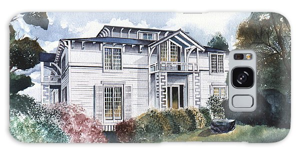 Tellico Johnson Mansion  Galaxy Case by Teri Brown