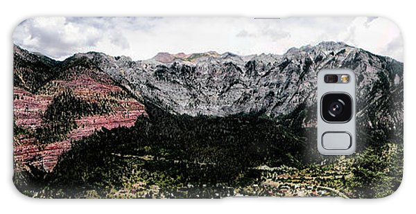 Telluride From The Air Galaxy Case