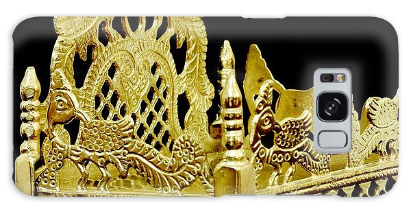 Temple Art - Brass Handicraft Galaxy Case by Ramabhadran Thirupattur