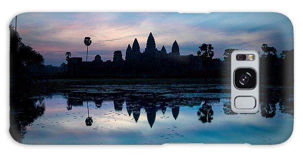 Place Of Worship Galaxy Case - Temple At The Lakeside, Angkor Wat by Panoramic Images
