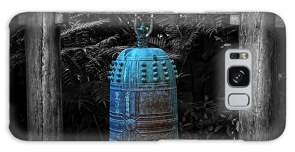 World Religion Galaxy Case - Temple Bell - Buddhist Photography By William Patrick And Sharon Cummings  by Sharon Cummings