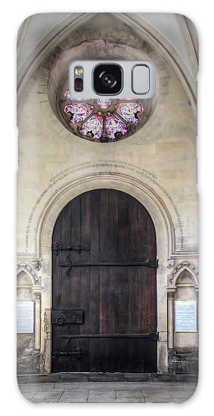 Temple Church Doorway Galaxy Case