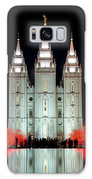 Temple Lights Galaxy Case