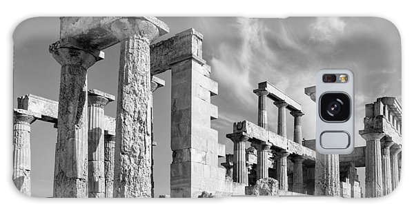 Temple Of Aphaea On Aegina In Greece Galaxy Case