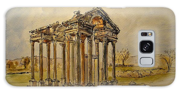 Temple Galaxy Case - Temple Of Aphrodite by Juan  Bosco