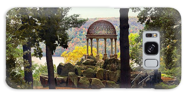 Galaxy Case featuring the photograph Temple Of Love In Autumn by Jessica Jenney