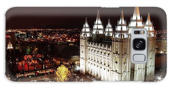 Temple Square Galaxy Case