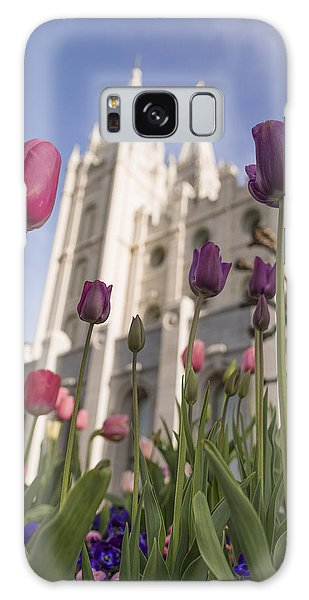 Tulip Galaxy S8 Case - Temple Tulips by Chad Dutson