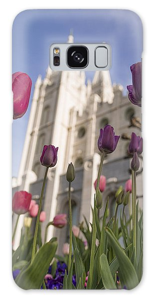 Tulip Galaxy Case - Temple Tulips by Chad Dutson
