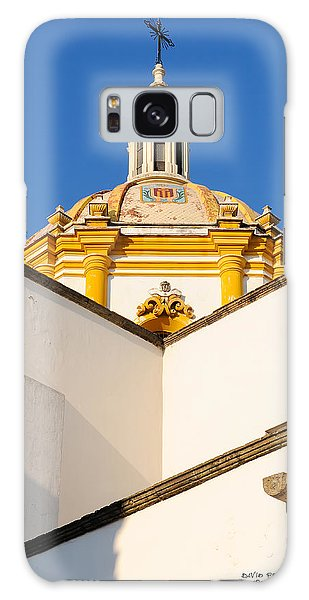 Templo De La Merced Guadalajara Mexico Galaxy Case by David Perry Lawrence