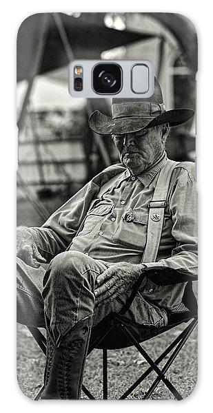 Cowboy And The Ten Gallon Hat Galaxy Case