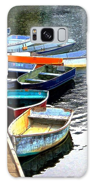 Ten Rockport Dinghies Galaxy Case by Dale   Ford
