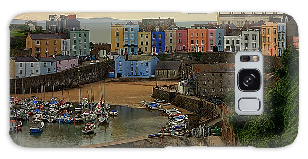 Tenby Harbour In The Morning Galaxy Case