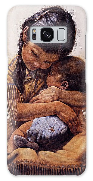 Brothers Galaxy Case - Tender Love by Gregory Perillo