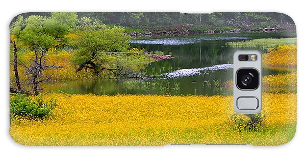 Tennessee Black-eyed Susan Field Galaxy Case by Kathy Barney