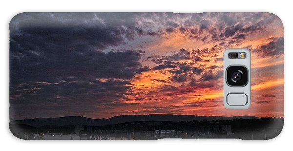 Tennessee River Sunset 2 Galaxy Case