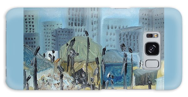 Tent City Homeless Galaxy Case by Judith Rhue